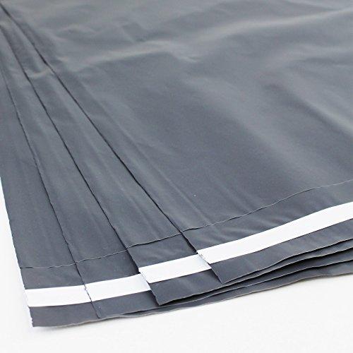 Versandtaschen Versandbeutel Plastik Folie 25x35 Grau (25 Stück)