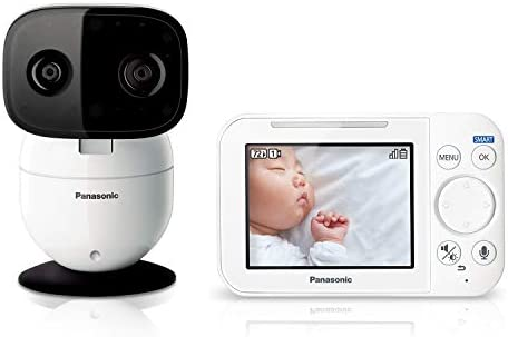 Panasonic Video Baby Monitor with Remote Pan Tilt Zoom Extra Long Range Secure Connection and product image