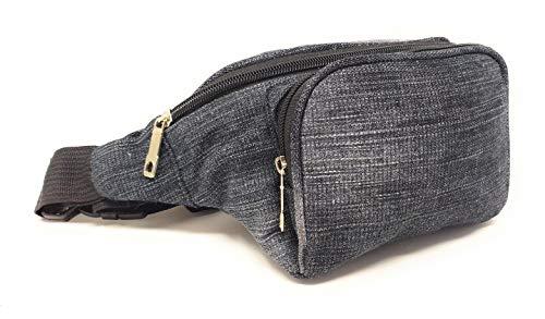 Kleine heuptas met 3 zakken.