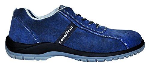 Goodyear Sicherheitsschuhe G138/3052C (Leder Rindsleder) blau, blau, G138/3052C