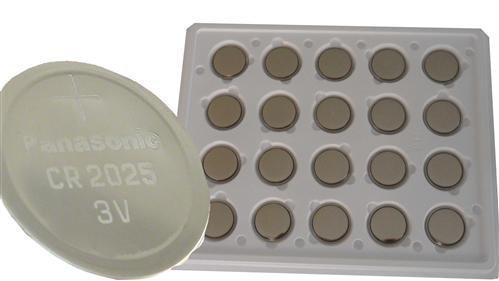 Panasonic CR2025 20x Knopfzelle 3V Batterie