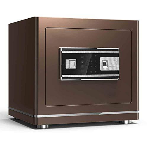 SGSG Caja Fuerte para el hogar Caja Fuerte pequeña Huella Digital Contraseña Gabinete de Seguridad Oficina Todo Acero Mini Caja Fuerte Seguridad Seguridad electrónica Gabinete de Acero