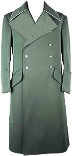 militaryharbor WW2 WWII German Elite M34 Fieldgrey Officer Gabardine Overcoat