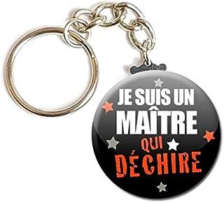 id/ée cadeau accessoire mariage evjf PORTE CL/ÉS Cha/înette 3,8 cm ✩ Veux tu /être ma T/émoin ✩ 02