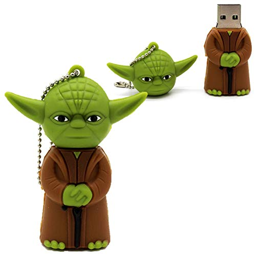 Pen drive de 32gb Personalizado Star Wars Mestre Yoda USB