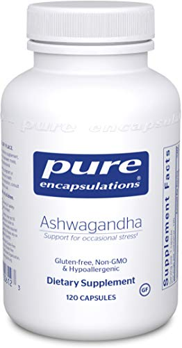 Pure Encapsulations - Ashwagandha - Supports Cardiovascular, Immune, Cognitive, and Joint Function and Helps Moderate Occasional Stress - 120 Capsules