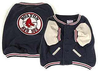 MLB DOG JACKET. Baseball Jackets for DOGS & CATS. - Durable SPORTS PET Jacket - available in 5 MLB TEAMS & 6 sizes - MLB PET DUGOUT JACKET - Licensed DOG VARSITY JACKET - MLB PET DRESS UP - MLB DOG OUTFIT - MLB DOGDUGOUT JACKET