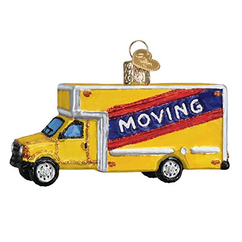 Old World Christmas Moving Truck
