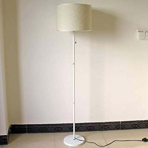 Busirsiz Dormitorio llevado lámpara de pie, Moderno Jane Lámpara europea baja, salón iluminación de la manera creativa Lámpara de piso, Eye-Cuidado Vertical luz del piso