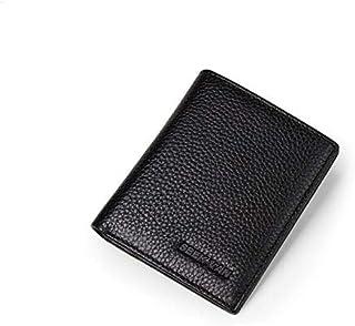 Seekvan Black Leather For Men - Bifold Wallets