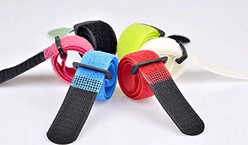 100pcs lot Reusable Cable Ties Regular store Plastic with Straps button New sales Strip