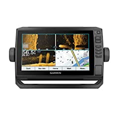 """Bright, Sunlight-readable 9"""" touchscreen with keyed assist Includes GT54 transducer for ultra High-Definition clearer and Ultra High-Definition SideVü scanning sonars and Garmin high wide CHIRP traditional sonar Preloaded LakeVü G3 inland maps with i..."""