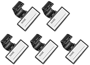 Beautyflier 5 Pcs Plastic Name ID Identification Tag Clip For Stethoscope Tube Replacement