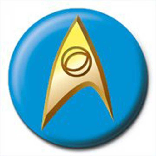 empireposter Star Trek - Insignia Blue - Ansteck Button Ø2,5 cm