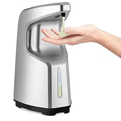 Amazon - Save 65%: Automatic Soap Dispenser, ss shovan Hand Sanitizer Dispenser Touchless Soap…