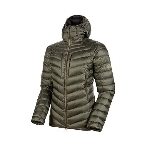 Mammut Herren Broad Peak Hooded Daunen-Jacke mit Kapuze, Iguana-Phantom, XXL