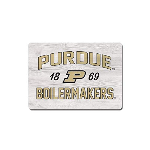 NCAA Legacy Purdue Boilermakers Wood Magnet - 2.5 x 3.5, One Size, Wood