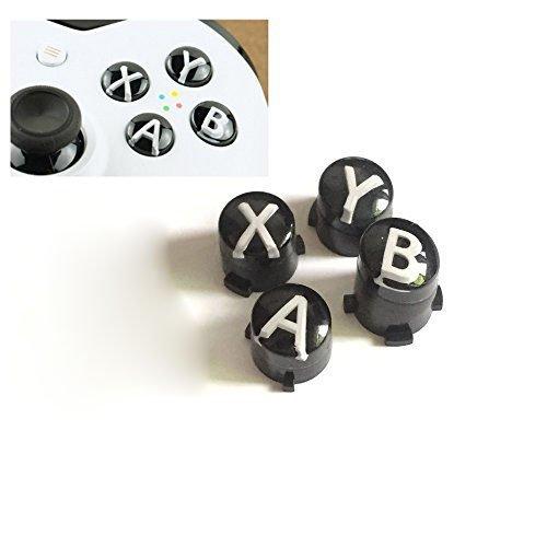 Tasten für Xbox One X/S/Elite-Controller, mit Buchstaben A B X Y Mod Kit weiß