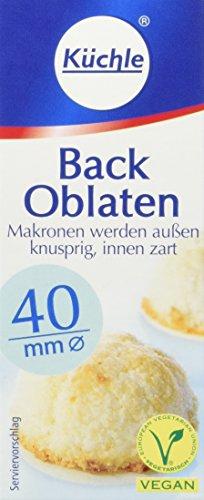 Küchle Oblaten rund 40 mm,18er Pack (18 x 23g)