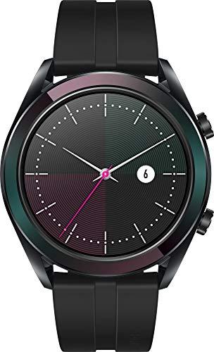 Huawei Watch GT Elegant Smartwatch (42 mm Amoled Touchscreen, GPS, Fitness Tracker, Herzfrequenzmessung, 5 ATM wasserdicht) Schwarz - 2