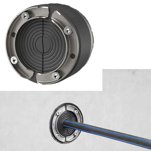 Ritzer by Hauff Ringraumdichtung/Mauerdurchführung DN 100 für Kabel/Rohr 18-65mm HSD100-SSG 18-65 SL Segment
