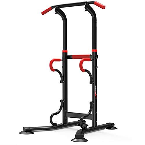 zkhysm Power Tower - Attrezzo da fitness multifunzione, per trazioni, chin up, dip, per fitness casalingo