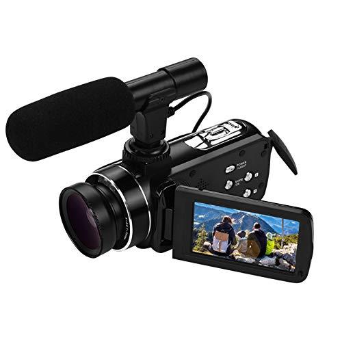 Andoer Digitaler Camcorder 4K Ultra HD...
