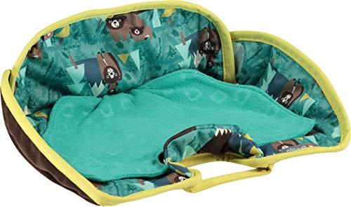 Close Pop-in wasserdichter Mehrzweck-Sitzschutz für Kleinkinder, für Auto, Kinderwagen oder Hochstuhl, leicht zu reinigen, Bären-Druck