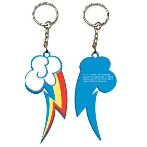 My Little Pony Rainbow Dash Badge and Charm Rainbow Sangle de portage