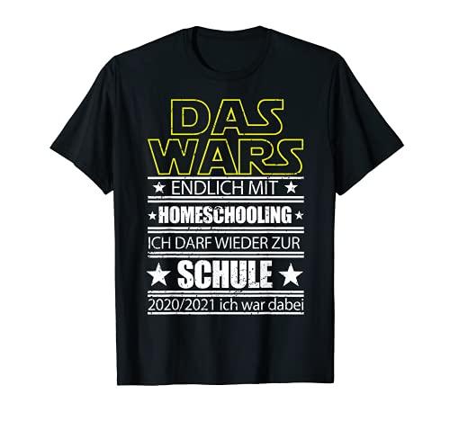El Guerra de las Galaxias con Homeschooling por fin un regalo para el Camiseta