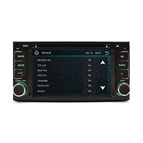 Gabriel Nissan Juke 2009-2011 OEM sostituzione in cruscotto doppio DIN touchscreen navigazione GPS Bluetooth Radi