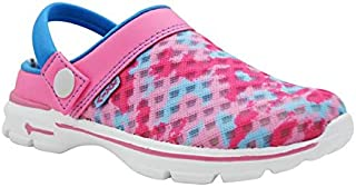 KazarMax Pink Camo Fashion Slipon's/Sandals/Hopits/Clogs and Mules for Kids(Unisex) (Made in India)