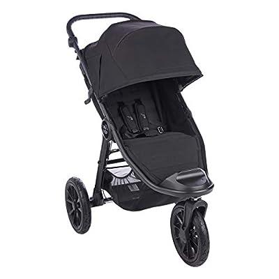 Baby Jogger 2117351 City Elite 2 - Cochecito plegable para cualquier tipo de terreno, 14,2 kg, color negro
