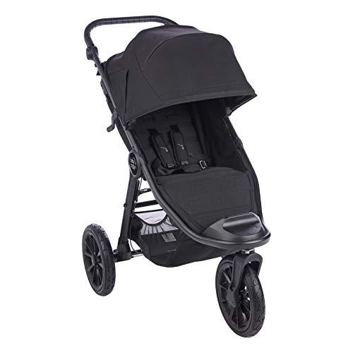 Baby Jogger City Elite2 Kinderwagen für jedes Gelände | Zusammenklappbarer und tragbarer | Jet (schwarz)