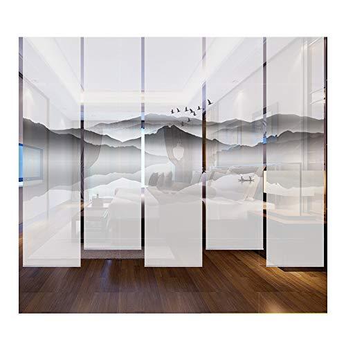 YANGLIYU Las persianas enrollables, Cortina Que cuelga de Biombo de 5 Piezas Panel de tabique adecuados for centros comerciales,...