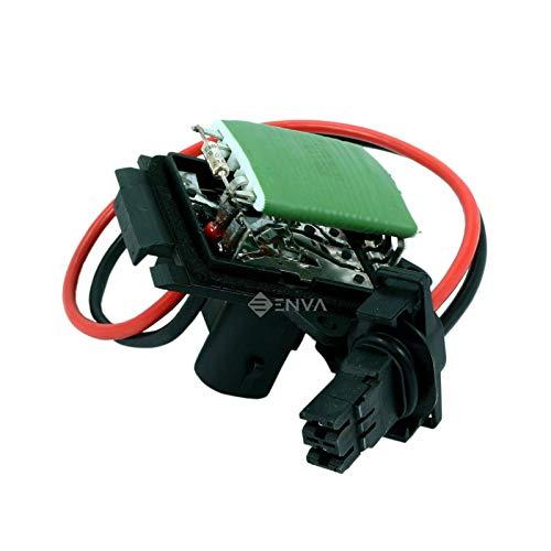 Hellux - Resistencia de ventilador para calentador de ventilador para Clio MK2 1998-2006, Kangoo 1997, Kangoo Express 1997-2007 7701067033