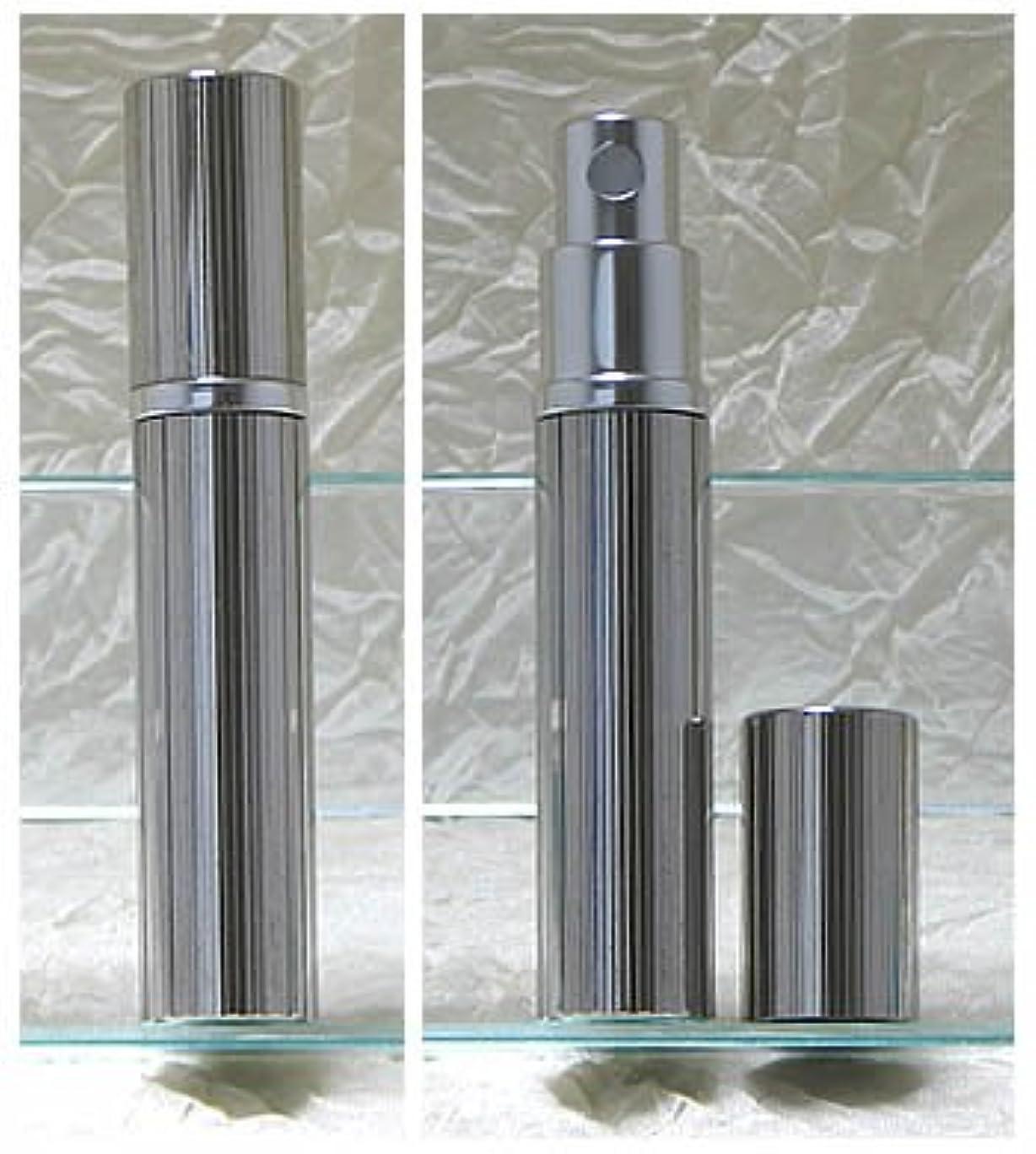 副肉屋剥離パースメタルアトマイザーハンドワーク 縦縞ダイヤカット ロジウム
