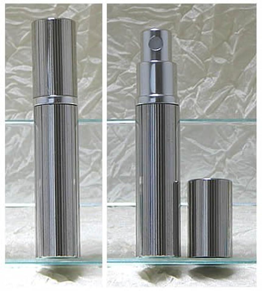 急流アシスト文明化するパースメタルアトマイザーハンドワーク 縦縞ダイヤカット ロジウム