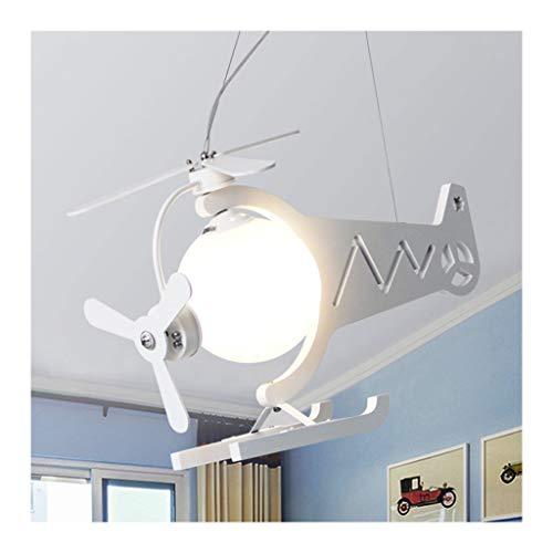 HNWNJ Araña de Ventilador Luces de araña de avión de Dibujos Animados, for niños (Color : B)