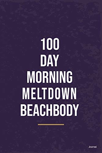 100 day morning meltdown beach body Essential On Fitness Program: Goal Journal Motivational Quote To Get Into Shape: 100 day morning meltdown ... Keep Fu**ing Going Attitude Of Gratitude