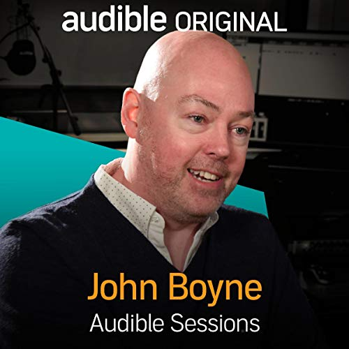 John Boyne audiobook cover art