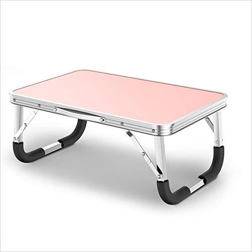WCJ klaptafel Laptop tafel Bed tafel luie tafel Kleine tafel Eenvoudige slaapzaal bureau voor dlers Lezen, Leren, Eten