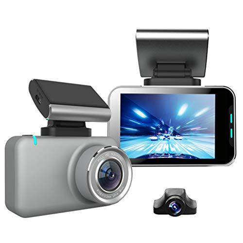 H.265 Dual 1080p Super Condensadores WiFi Car Dash Cam 2.35 '' Pantalla IPS Mini visión nocturna DVR G-sensor Grabadora de cámara