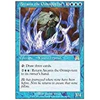Wizards of the Coast Magic: The Gathering - Arcanis The Omnipotent - Onslaught - Foil by