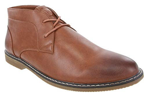 LONDON FOG Mens Blackburn Chukka Boot Tan 12 M US