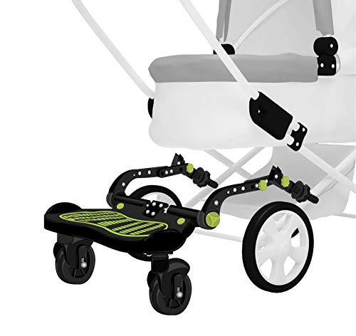 Stroller Glider Board - A-Ride-Along Stroller Accessory | Holds Kids Up To 70 LBS | Fits 95% of Stroller Models | Universal Latching System Allows the Glide Board to Connect on Strollers in Minutes