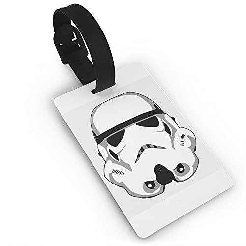 Stạr_Wạrs Stormtrooper Etiquetas de equipaje Maleta Etiquetas de equipaje Portatarjetas de viaje Bolsa de identificación Etiquetas de viaje Maleta de PVC