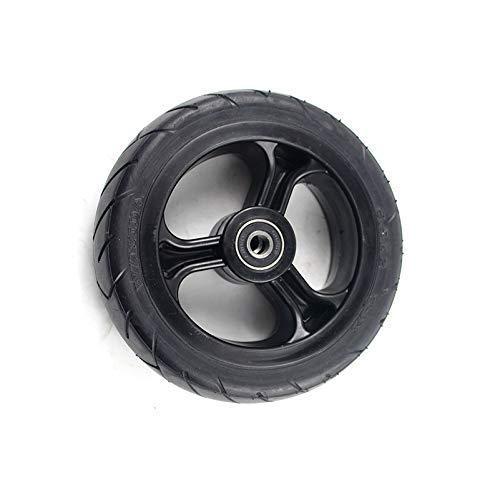LXHJZ Neumáticos para Scooter Movilidad, neumático sólido Rueda 5.5X2 Pulgadas para Scooter Fibra Carbono Jackhot Fastwheel F0 neumáticos para Scoot eléctricos Dolly Gocart