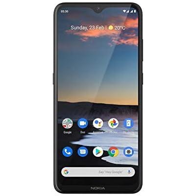 Nokia 5.3 -Smartphone de 6,55'' (4 GB RAM, 64 GB ROM, Cámara trasera de 13MP+5MP +2MP+2MP , Bateria 4000 mAh , Dual Sim) , Charcoal [Versión ES/PT]