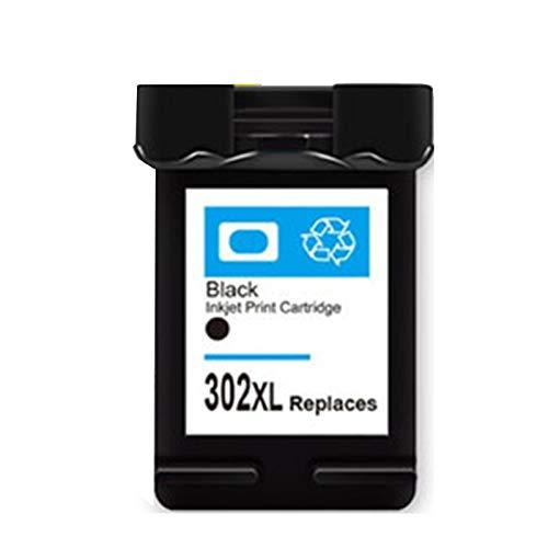 Cartucho de tinta 302xl, para HP DeskJet 1111 2131 2132 1112 Cartuchos de tinta, negro y color, puede agregar tinta, 600 páginas black